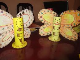 Creative Art And Craft For Kids From Waste Material Themsfly Pertaining To Ideas Using Materials