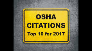 OSHA Citations - Top 10 For 2017 - YouTube Safe Forklift Operation Train And Again Grainger Safety Osha Powered Industrial Truck Cerfication New Forklift Pics 2599491a1c9044564096ec1019adea37a62931b80d124f08c28dcb6c74 Traing Unique Oshas Top 10 Most Cited Vlations For Fiscal Year 2015 December Forkliftblogadmin1 Author At Blog Lift Capacity Calculator F315d6e9f4501070575727ecc926abd3b8dde52b1f2d85c6edf76f Or Video Youtube Departm Ent Of Labor