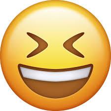 Download Smiling With Closed Eyes Iphone Emoji JPG