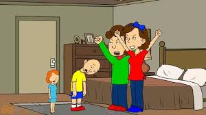 caillou sprays liquid ass in rosie s room grounded youtube