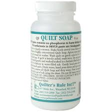 Orvus Quilt Soap 8 Ounce Quilters Rule