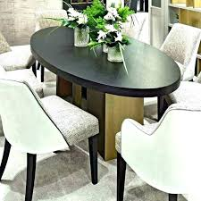 Modern Oval Dining Table Niginigico