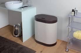 icon badezimmer wäschekorb dunkel braun höhe 61 cm