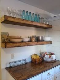 Best 25 Wood Floating Shelves Ideas On Pinterest