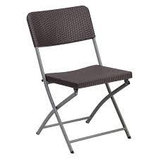 Flash Furniture Hercules Series Rattan Plastic Folding Chair ...