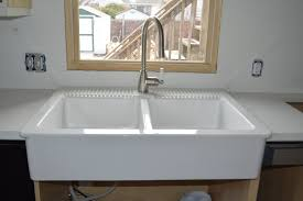Self Trimming Apron Front Sink by Ordering U0026 Installing Quartz Countertops From Menards