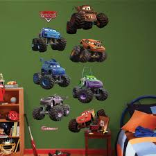 100 Fire Truck Wall Decals DisneyPixar Cars Monster S Collection