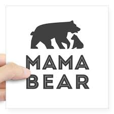 Mama Bear Sticker By WildNfree