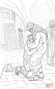 Click The Return Of Prodigal Son Coloring Pages