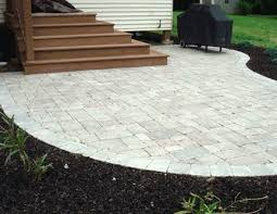 16x16 Patio Pavers Weight by Paver Cost Landscaping Network