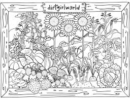 Picture Gallery For Website Garden Coloring Pages