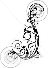 Graceful Swirls Clipart