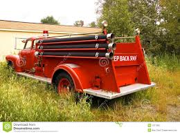 100 Antique Fire Truck Truck 4 Stock Image Image Of Responder 1077585