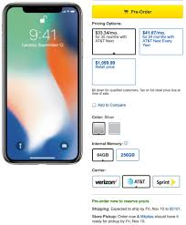 Best Buy and AT&T Still Have iPhone X Models Available 11 3 11