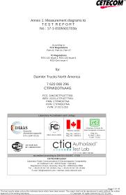 100 Daimler Truck North America CTP10777001 Telematics Control Unit Test Report No 2___a__