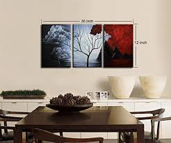 santin modern abstract painting wall decor landscape