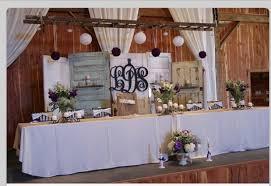 Rustic Wedding Backdrop With Old Doors