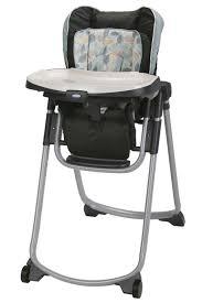 Cosco Flat Fold High Chair by Graco Slim Spaces Folding High Chair Trail Walmart Com