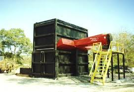 Air Curtain Destructor Burning by Mcpherson Systems Inc Air Curtains Pit Burners And Trench Burners