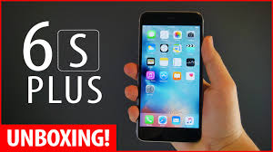 iPhone 6s Plus Unboxing New iPhone 6s Plus Space Grey 128gb