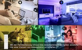 nixiukol 24w led deckenleuchte dimmbar rgb deckenle mit fernbedienung lichtfarbe und helligkeit einstellbar ip54 wasserfeste wohnzimmerle