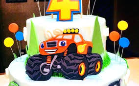 Blaze Birthday Ideas   Hot Trending Now Monster Truck Party Ideas At Birthday In A Box Pin By Vianey Zamora On Decoration Truck Pinterest Cake Decorations Simple Cakes Brilliant Jam Given Minimalist Article Little 4pcs Blaze Machines 18 Foil Balloon Favor Supply 2nd Diy Jam Gravedigger Photo 10 Of Table Amazoncom Birthdayexpress Room Cboard Id Mommy Diy