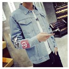 Mens Denim Jacket High Quality Fashion Jeans Jackets Slim Fit Casual Streetwear Vintage