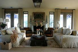 French Country Living Rooms Decorating by Rustic Country Living Room Decorating