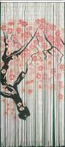 Beaded Door Curtains Walmart Canada by Door Beads Target Strands Bamboo Cherry Blossom Branch