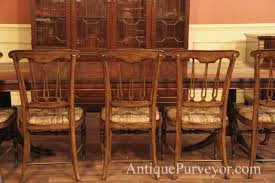 Tall Ladder Back Chairs With Rush Seats by Country Spindle Back Chairs With Rush Seat For Rustic Dining