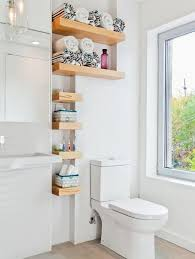 15 small wall shelves to make bathroom design functional and