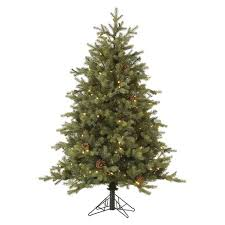 12ft Rocky Mountain Fir LED Pre Lit Instant Artificial Christmas