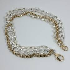 100 Pearl Design Mixed Chain And Necklace