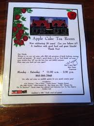 s for Apple Cake Tea Room Yelp