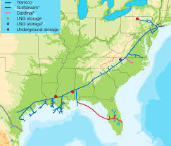 The First Transco Natural Gas Pipeline Connected Gulf Coast With Northeast But Now