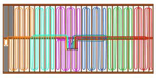 Pex Radiant Floor Heating by Ideal Pex Routing For Underfloor Install U2014 Heating Help The Wall