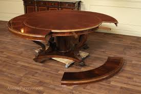 round dining room sets with leaf home design ideas