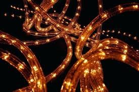 Beautiful Orange Rope Lights And Led Illumination 68 Orange Solar