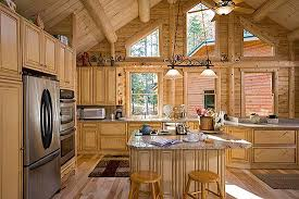 impressive log cabin kitchen ideas 16 amazing log house kitchens