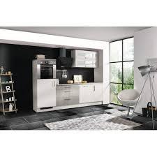 respekta premium küchenzeile merp260hwb 260 cm weiß beton