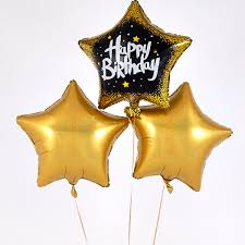 Happy Birthday Printed Linking Balloons Party Balloons