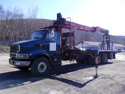 2004 Sterling LT9500 Tri Axle Flatbed Crane Truck For Sale By Arthur ... Used Trucks In Indiana Inspirational Intertional Bucket 2006 Ford E350 Bucket Boom Truck For Sale 11049 Aerial Lifts Boom Cranes Digger Bucket Truck 4x4 Puddle Jumper Or Regular Tires Youtube Kids Truck Video Used 1992 Intertional 4900 1753 Work For Sale Utility Oklahoma City Ok Trucks In Ca 2004 Sterling Lt9500 Tri Axle Flatbed Crane Sale By Arthur