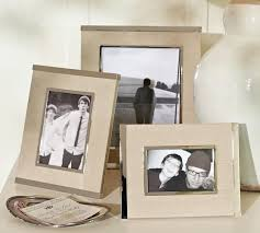 Silver & Linen Frames