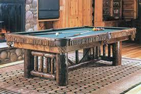 Rustic Alpine Pool Table Olhausen Billiards
