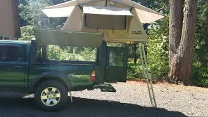 Truck Bed Camper With Roof Top Tent - YouTube