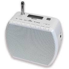 dual str 101 steckdosenradio ukw radio bluetooth für audiostreaming akku betrieb weiß