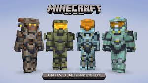 Halo 5 Gets DLC Minecraft Skins for Xbox