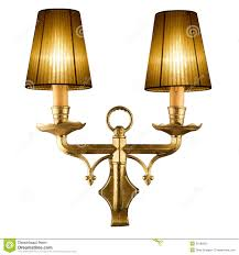 Vintage Wall Lamp Stock Photo Image Of Living Decorative