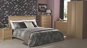 Bedroom BQ Ideas Contemporary Beech Effect Furniture