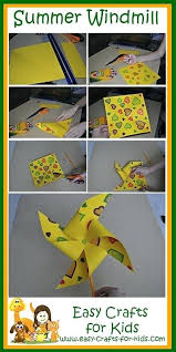 Step By Instructions For Summer Craft Ideas Kids
